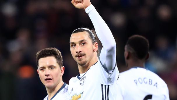 Zlatan Ibrahimovic made sure of the win