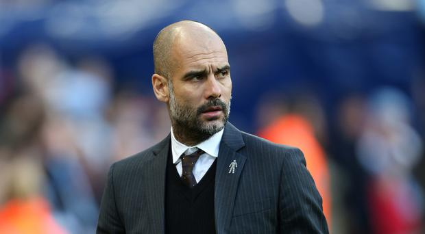 Pep Guardiola was not happy after Manchester City's win over Burnley