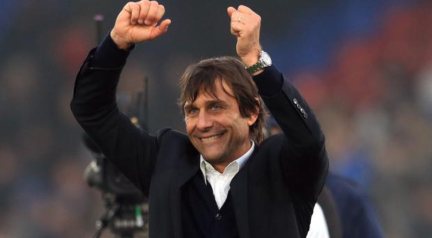 Antonio Conte's Chelsea play Tottenham on Wednesday