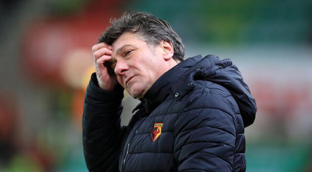Walter Mazzarri's Watford have won just once since November 19