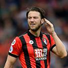 Harry Arter is understood to have been disgusted with the messages.