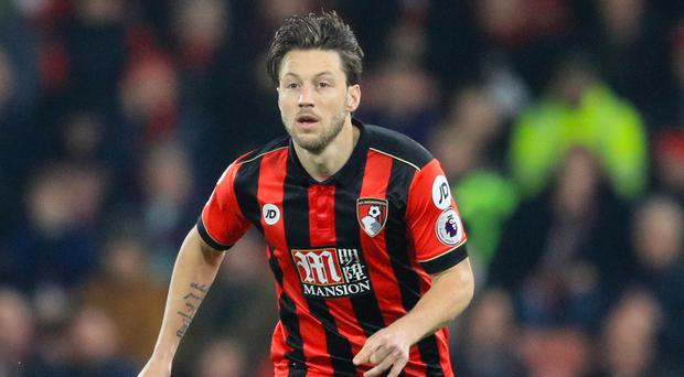 Bournemouth's Harry Arter was subjected to abuse on Twitter following the 3-3 draw with Arsenal on Tuesday night