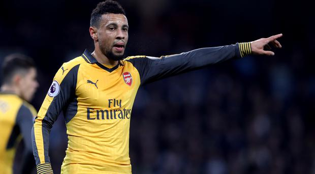 Francis Coquelin trudged out of Arsenal's last-gasp draw at Dean Court after just 26 minutes