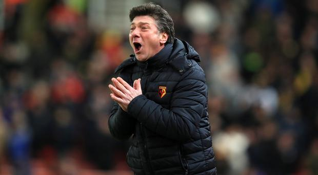 Walter Mazzarri called Watford's injury crisis a 'total emergency'