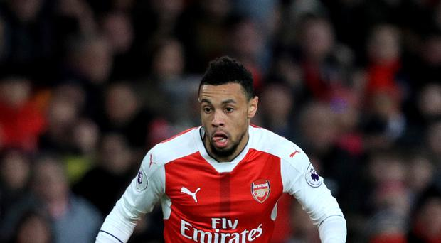 Francis Coquelin is set to be out for up to four weeks for Arsenal