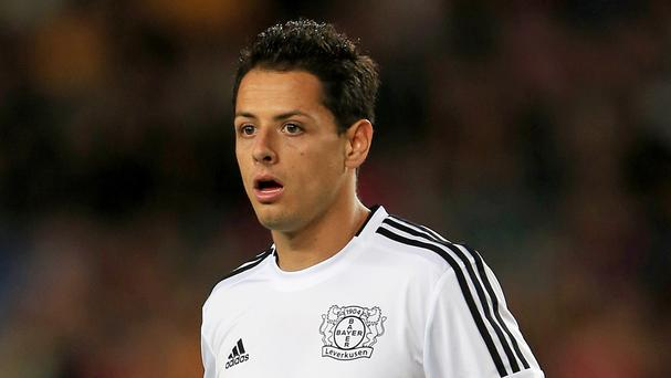 Javier Hernandez scored 37 league goals for Liverpool rivals Manchester United