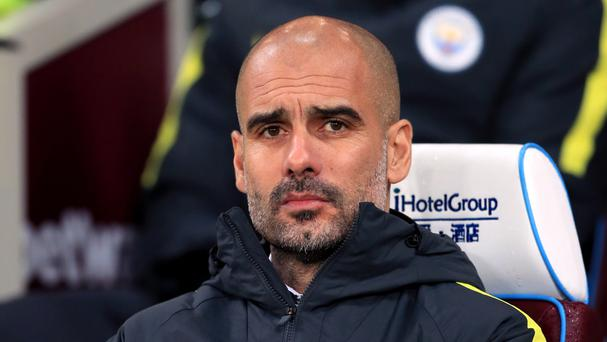 Pep Guardiola tasted victory in his first FA Cup match