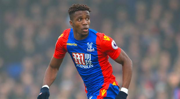 Wilfried Zaha made an impact on his Ivory Coast debut