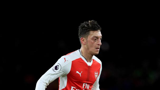 Arsenal's Mesut Ozil has 18 months left on his contract