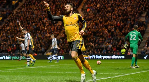In-form Arsenal striker Olivier Giroud is close to agreeing a contract extension