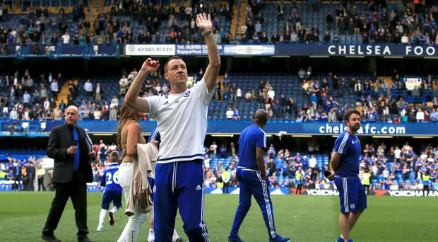Chelsea, who are hoping to redevelop their Stamford Bridge home, must do without captain John Terry through a one-match suspension
