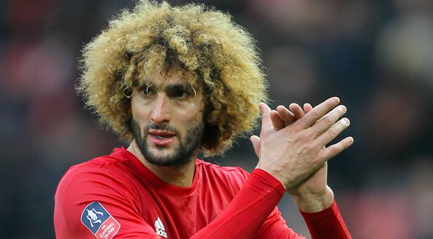 Marouane Fellaini's contract at Manchester United has been extended