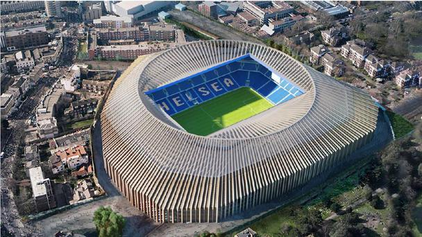Chelsea hope to be able to redevelop Stamford Bridge into a 60,000-capacity stadium