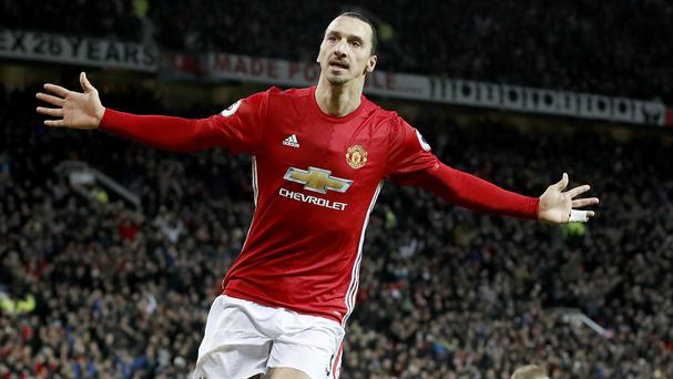 Ibrahimovic wins Player of the Month award
