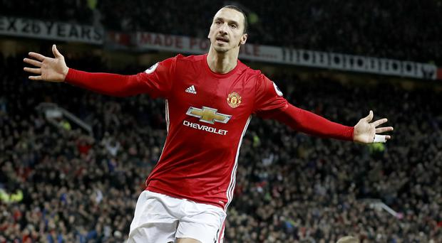 Zlatan Ibrahimovic has made a big impression at Manchester United