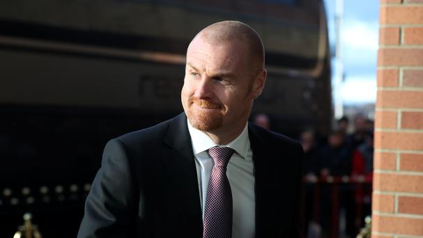 Sean Dyche is happy with his squad's depth