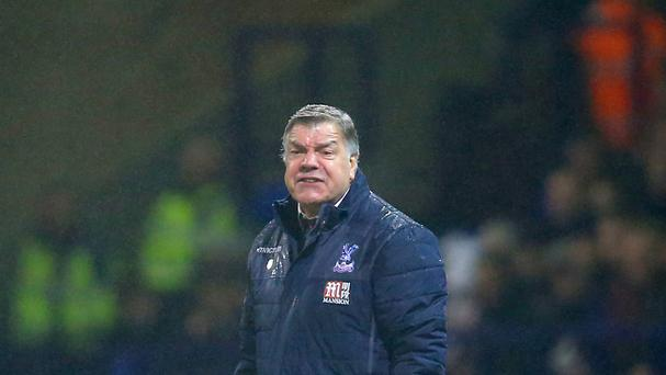 Sam Allardyce is chasing his first win in charge of Crystal Palace when they face West Ham