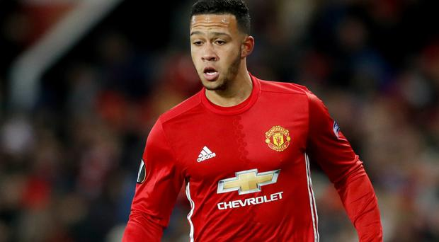Memphis Depay looks to be on his way out of Manchester United