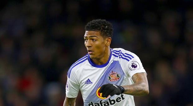 Sunderland have rejected a bid from Crystal Palace for full-back Patrick van Aanholt (pictured)