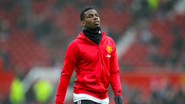 Paul Pogba, pictured, has seen his form improve in recent weeks which he puts down to advice from Jose Mourinho