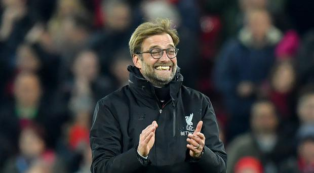 Liverpool manager Jurgen Klopp is relishing the trip to Old Trafford