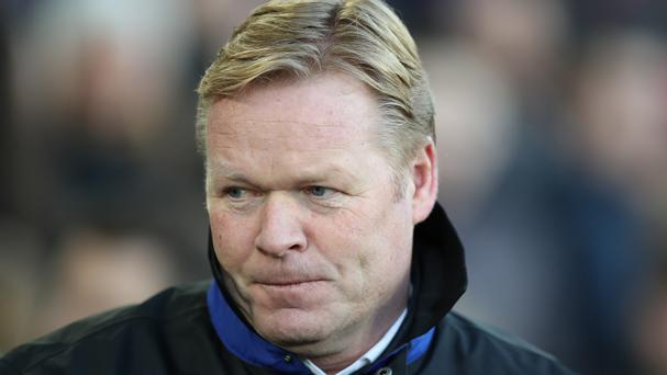 Ronald Koeman is preparing for his Everton side host Pep Guardiola's Manchester City on Sunday