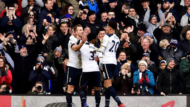 Tottenham had a day to savour