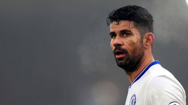 Diego Costa did not play against Leicester