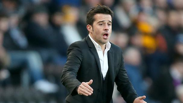Marco Silva won his first Premier League game in charge of Hull