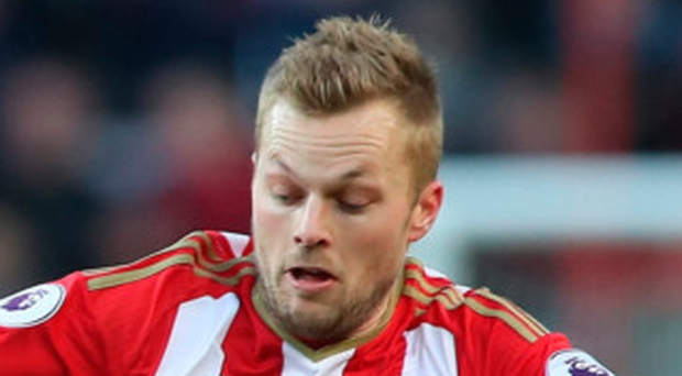 Horror show: Sebastian Larsson's Sunderland lost 3-1 at home to Stoke