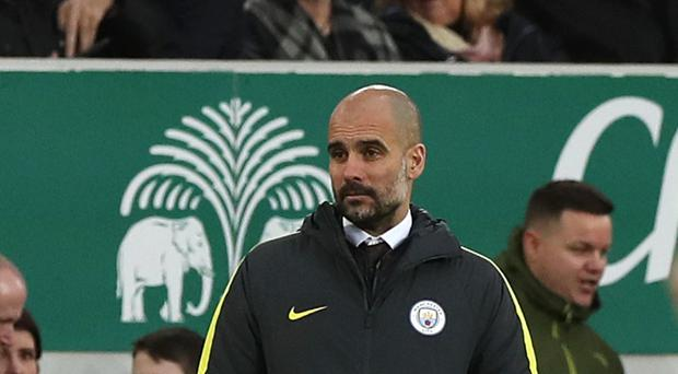 Pep Guardiola accepts the title could be beyond Manchester City this season