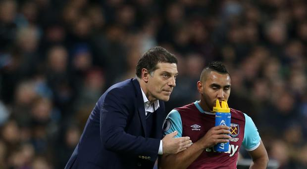 West Ham boss Slaven Bilic, left, revealed last week that Dimitri Payet is refusing to play for the club.