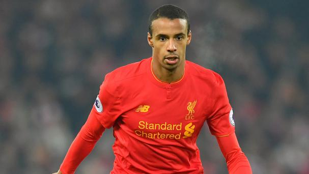 Liverpool defender Joel Matip could face a spell on the sidelines
