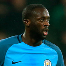 Staying: Yaya Toure wants to remain in the UK game