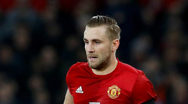 Manchester United's Luke Shaw has endured a stop-start campaign