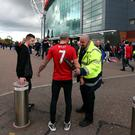 Manchester United have upped security at Old Trafford