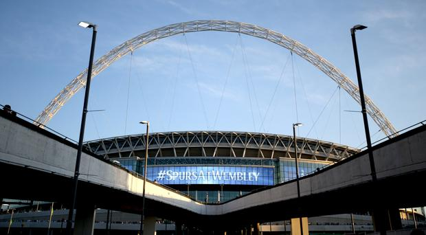 Wembley has staged Tottenham's European games this season