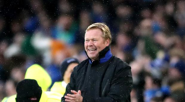 Everton manager Ronald Koeman has to decide which goalkeeper will start on Saturday