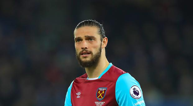 Aitor Karanka has warned his defenders to beware West Ham's Andy Carroll, pictured