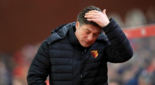 Watford manager Walter Mazzarri will face Bournemouth this weekend