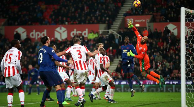 Wayne Rooney's free-kick curls past Lee Grant for Manchester United's equaliser