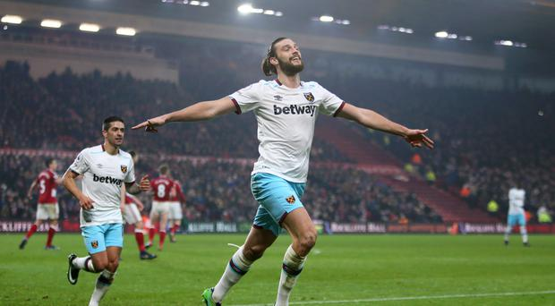 Andy Carroll continued his fine form at the Riverside