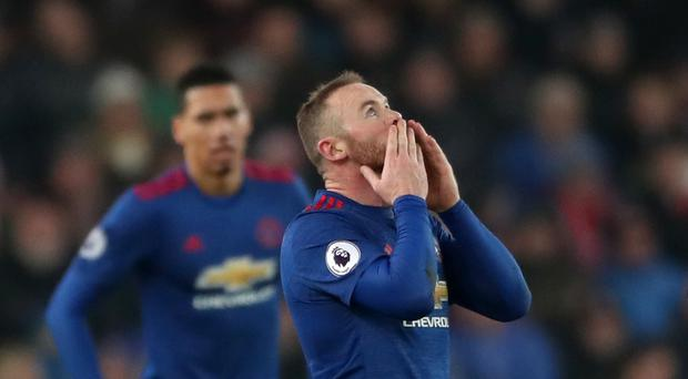 Wayne Rooney became Manchester United's all-time leading goalscorer after his injury time equaliser at Stoke