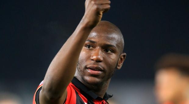 Benik Afobe salvaged a point for Bournemouth against Watford