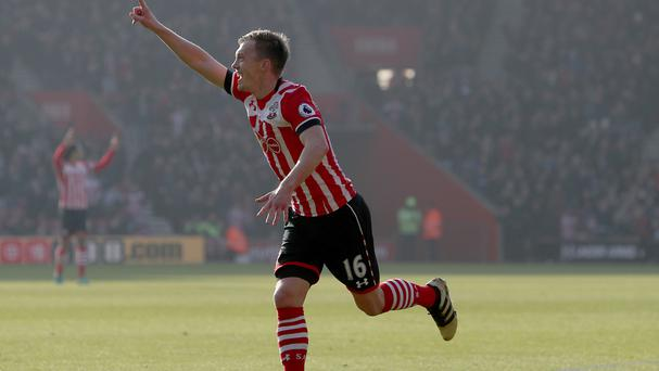 James Ward-Prowse scored the opener for Southampton