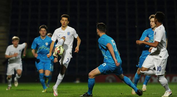England Under-19 international Nathan Holland has joined West Ham
