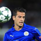 Luis Hernandez made just four Premier League appearances for Leicester after signing in the summer.