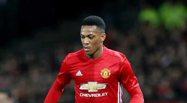 Anthony Martial is enduring a difficult second season at Manchester United
