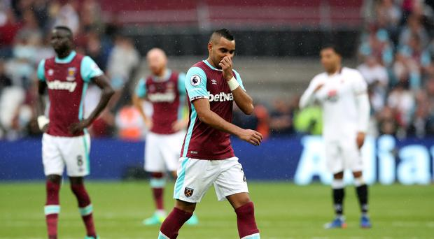 Dimitri Payet is trying to force a move away from West Ham