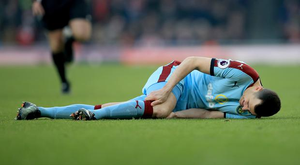 Dean Marney sustained the injury against Arsenal on Sunday